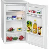 Холодильник підлоговий, холодильний з низькотемпературним відділенням Bomann KS 2261 (A +, 84L, білий)