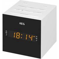 Радіогодинник AEG MRC 4150 (білий)
