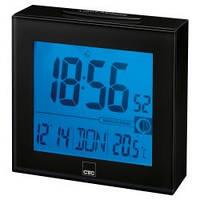 Годинник з радіоуправлінням Clatronic FU 7025 (чорні)