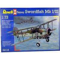 Сборная модель Revell Бомбардировщик-торпедоносец Fairey Swordfish 1:72 (4115)