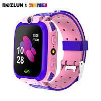 Детские смарт часы Q12 водонепроницаемые для девочек и мальчиков