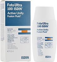 Isdin Флюид для лица Foto Ultra 100 Active Unify SPF 50+ 50 мл