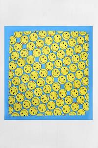 Оригінальна Бандана FAMO Жовта+блакитна 55*55 #L/A
