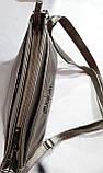 Женские повседневные клатчи на 2 змейки Китай (4цвета)16*25см БЕЖ, фото 3