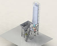 Мобильная бетоносмесительная установка МБСУ-8С KARMEL, фото 1