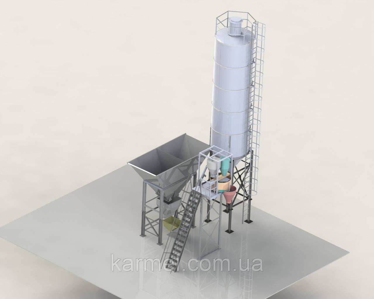 Мобильная бетоносмесительная установка МБСУ-8С KARMEL - KARMEL в Хмельницком