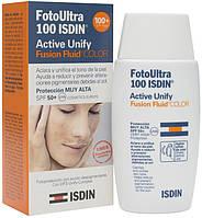 Isdin Флюид для лица с тонирующим эффектом Foto Ultra 100 Active Unify SPF 50+ 50 мл