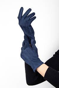 Перчатки FAMO Женские перчатки Тайси синие M M (1-1) #L/A