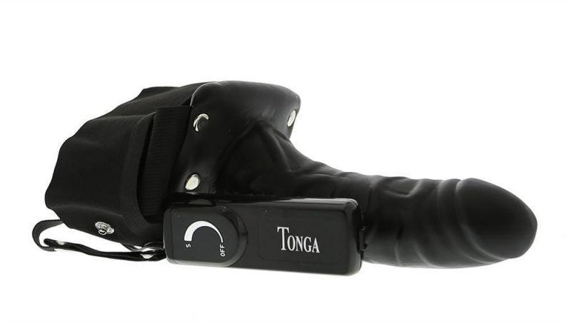 Мужской страпон с вибрацией ROBOTIC MALE STRAP-ON, BLACK