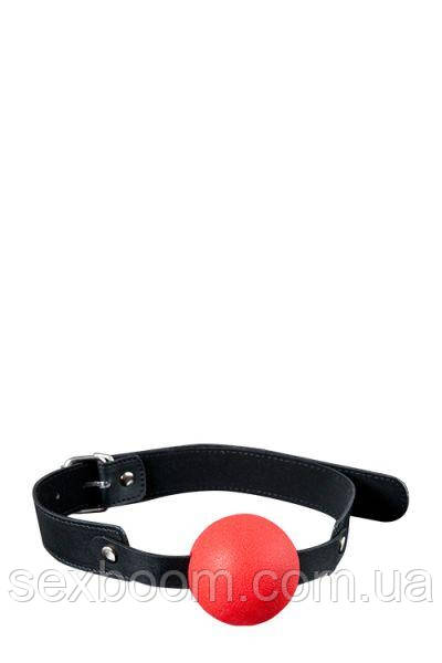 Кляп GP SOLID SILICONE BALL GAG RED