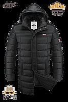 Мужская зимняя фирменная куртка MOC черная