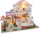 Кукольный домик 3D Румбокс CuteBee DIY DollHouse Вилла (V787SD), фото 2