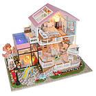 Кукольный домик 3D Румбокс CuteBee DIY DollHouse Вилла (V787SD), фото 3