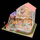 Кукольный домик 3D Румбокс CuteBee DIY DollHouse Вилла (V787SD), фото 4