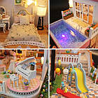 Кукольный домик 3D Румбокс CuteBee DIY DollHouse Вилла (V787SD), фото 5