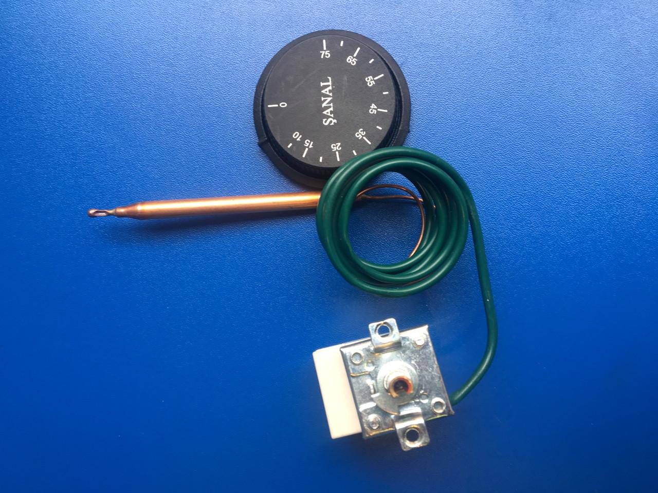 Газовый термостат бойлера 10-75 SANAL