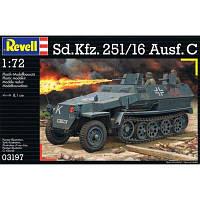 Сборная модель Revell Бронетранспортер Sd.Kfz. 251/16 Ausf. C 1:72 (3197)