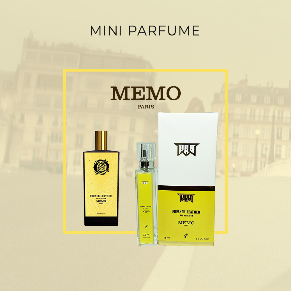 Elite Parfume Memo French Leather, унисекс 33 мл