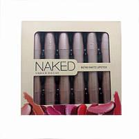 Набор помад Naked Retro matte lipstick, фото 4