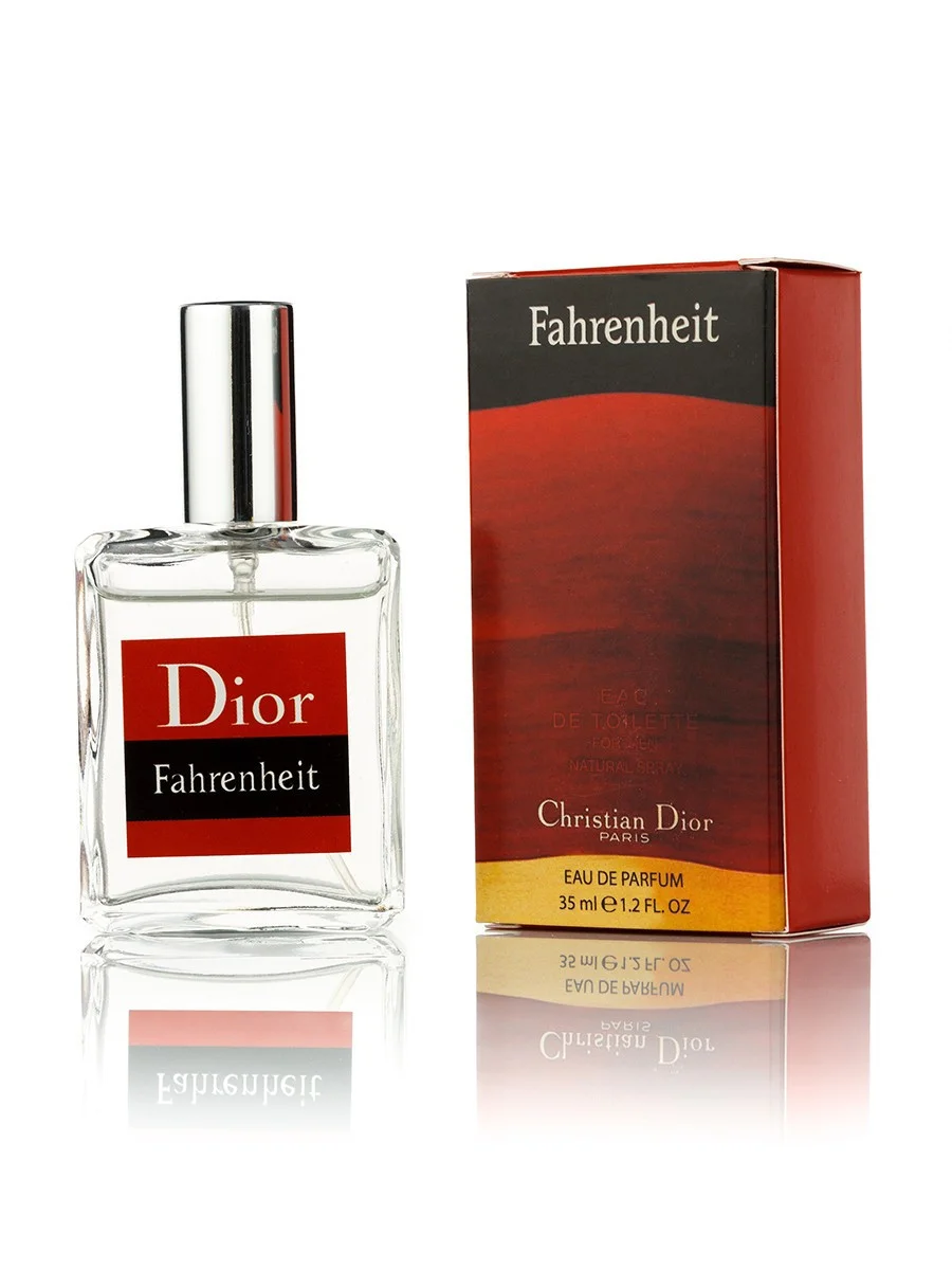 Парфюмерная вода Christian Dior Fahrenheit, мужская 35 мл