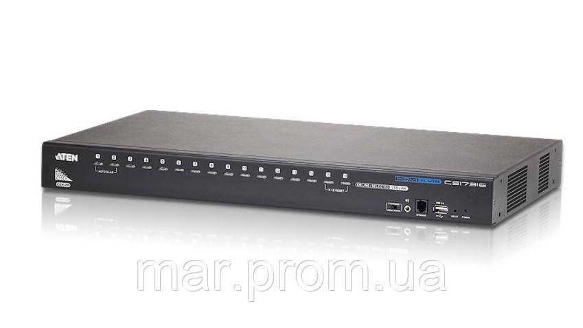KVM коммутатор   CS-17916 16- портовый USB HDMI