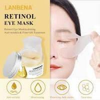 Тканеые патчи для глаз LANBENA Retinol Eye Mask от морщин с ретинолом