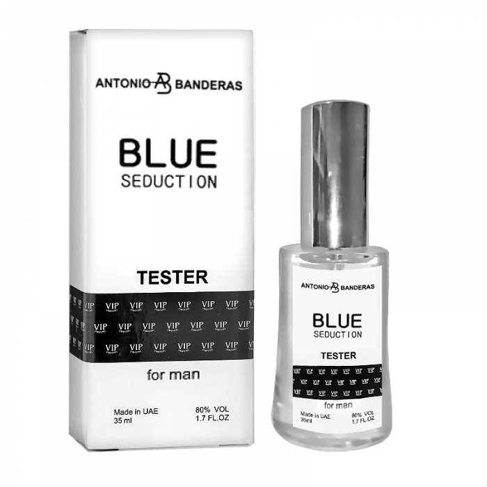 Tester VIP мужской Antonio Banderas Blue Seduction 35 мл
