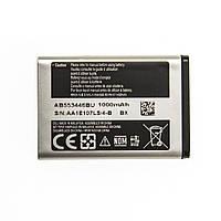 Аккумулятор AB553446BU для Samsung E1117 1000 mAh 03649-7, КОД: 137581