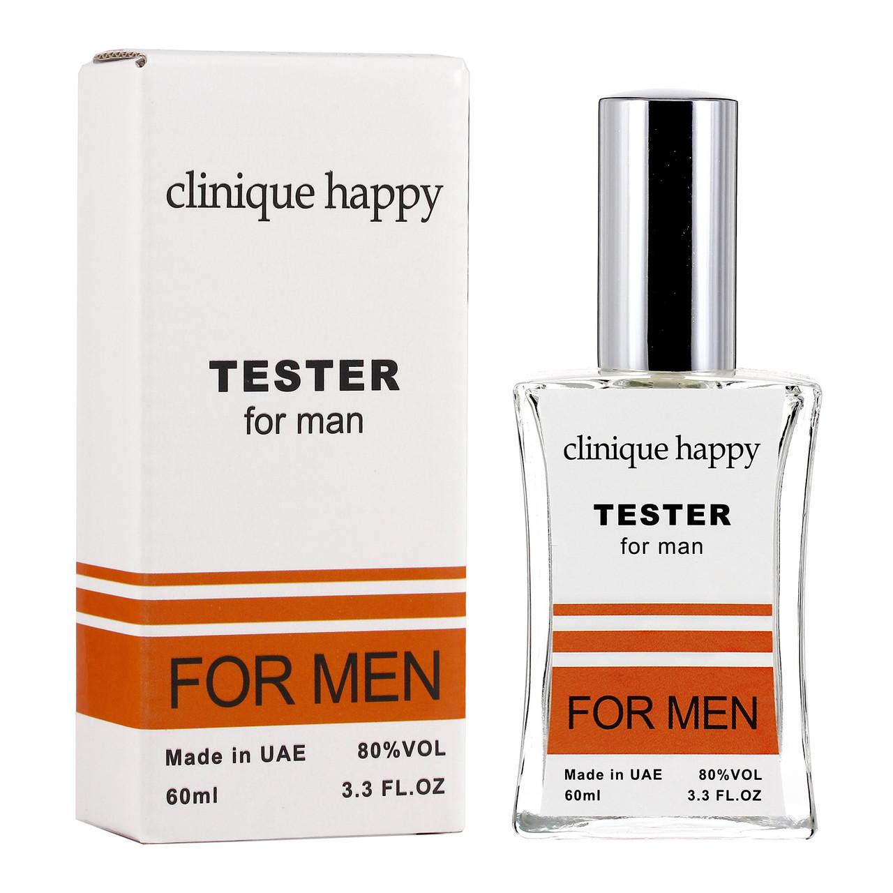 Тестер Clinique Happy мужской, 60 мл