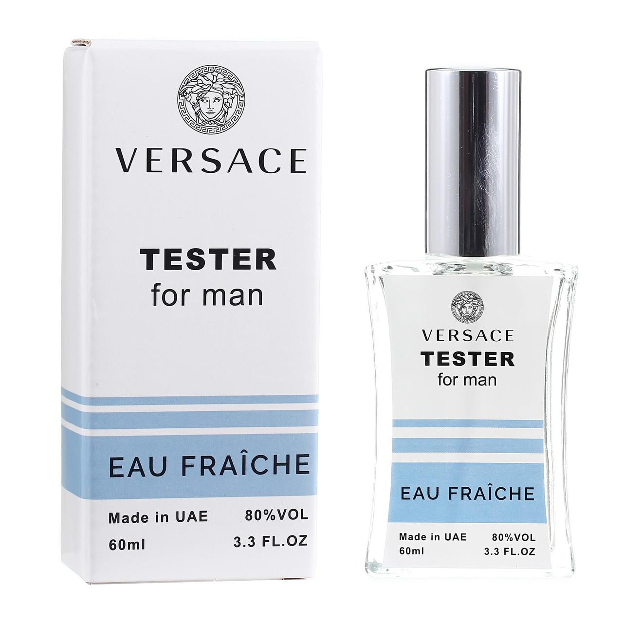 Тестер Versace Eau Fraiche мужской, 60 мл
