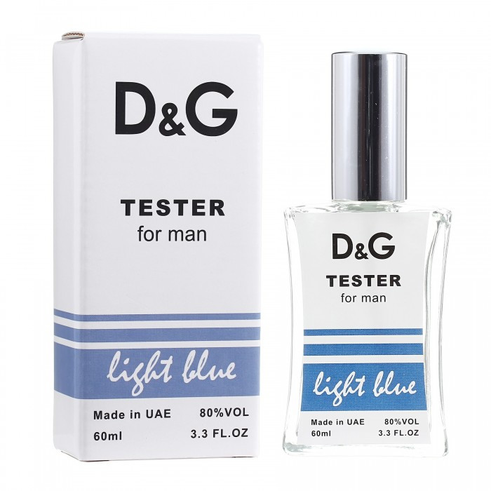 Тестер Dolce & Gabbana Light Blue мужской, 60 мл