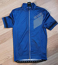 Новые мужские велофутболки велоджерси Crivit Sports light blue