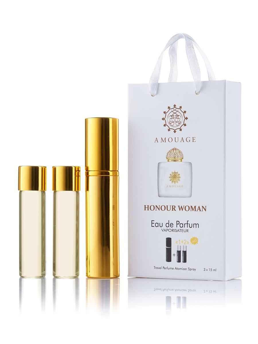 Мини-парфюм Amouage Honour for Woman, 3х15 мл