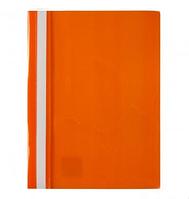 Скоросшиватель пласт. AXENT оранжевый