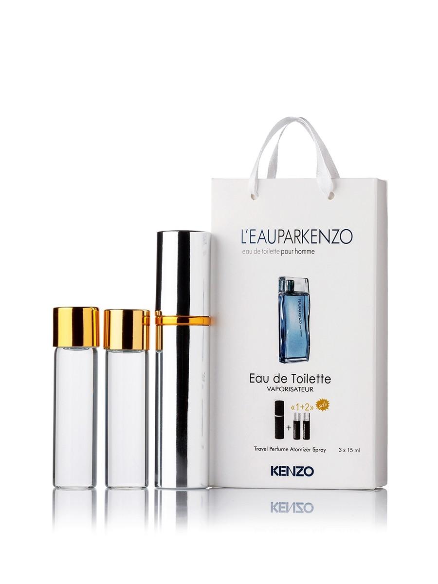 Мини-парфюм с феромонами мужской L'Eau Par Kenzo Pour Homme 3х15 мл