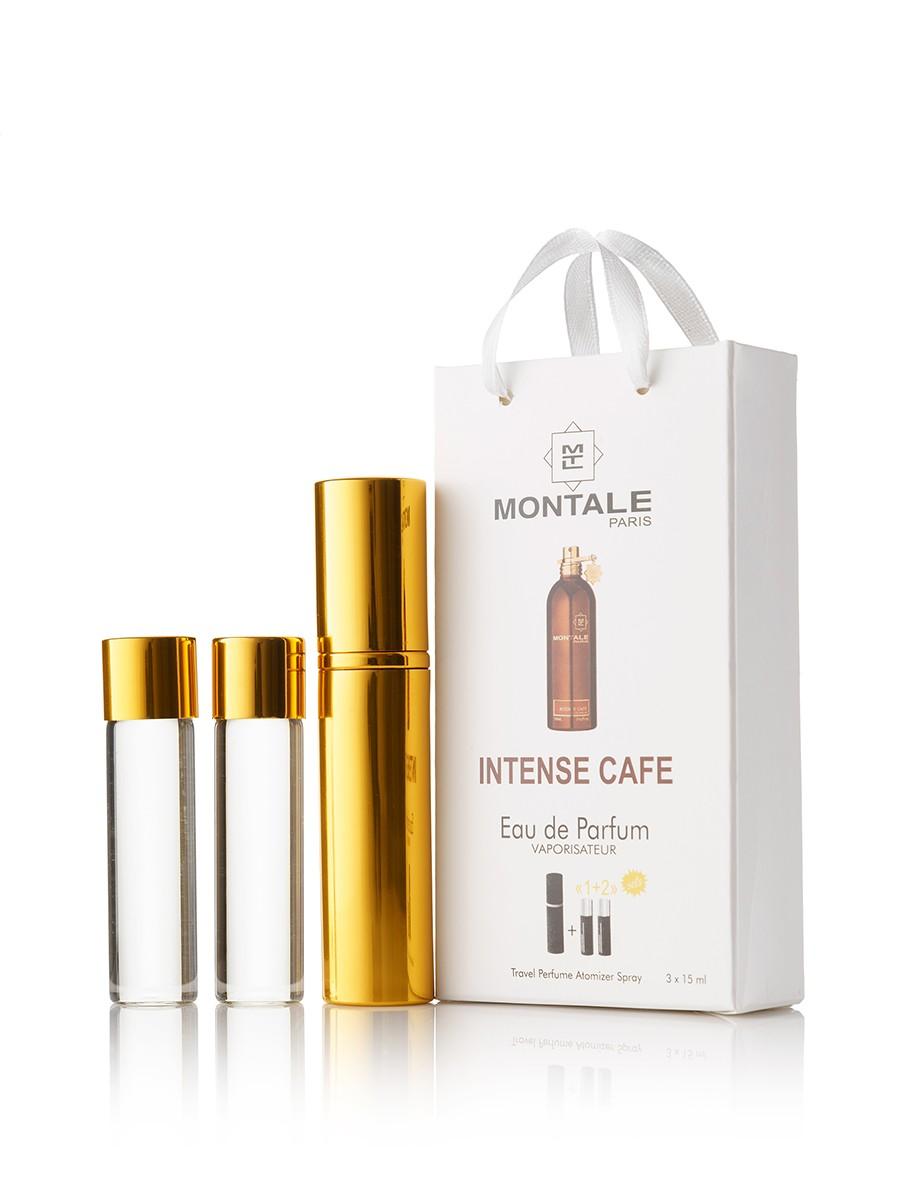 Мини-парфюм Montale Intense Cafe, унисекс 3х15 мл