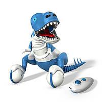 Интерактивный робот игрушка Зумер Дино синий Робот-динозавр от Spin Master / Spin Master Zoomer Dino Snaptail