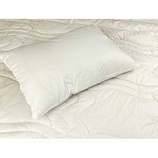 Одеяло шерстяное зимнее 172x205 двуспальное Тик Элит 450 г/м2 316.29ШЕУ_Білий, фото 2