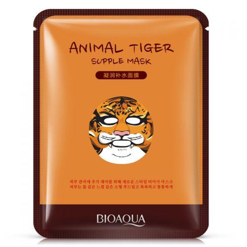Маска-салфетка для лица BIOAQUA Animal Tiger Mask питательная 30 г
