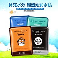 Маска-салфетка для лица BIOAQUA Animal Tiger Mask питательная 30 г, фото 2
