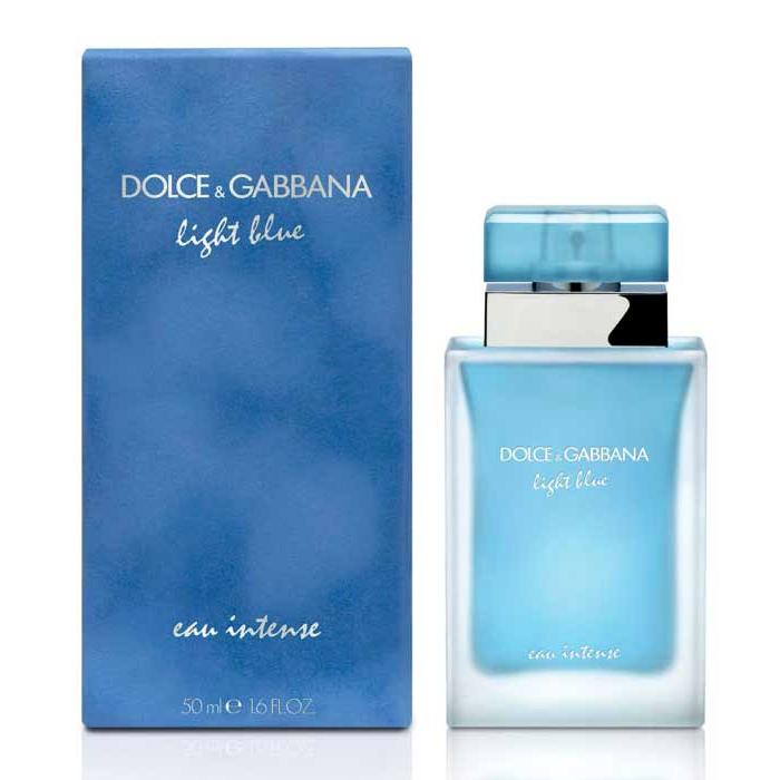 Женская парфюмированная вода Dolce & Gabbana Light Blue Eau Intense 100 мл