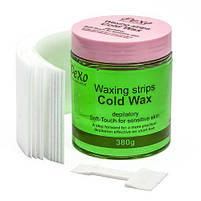 Холодный воск для депиляции Wokali Pexo Depilatory Honey Cold Wax Aloe Vera, фото 3