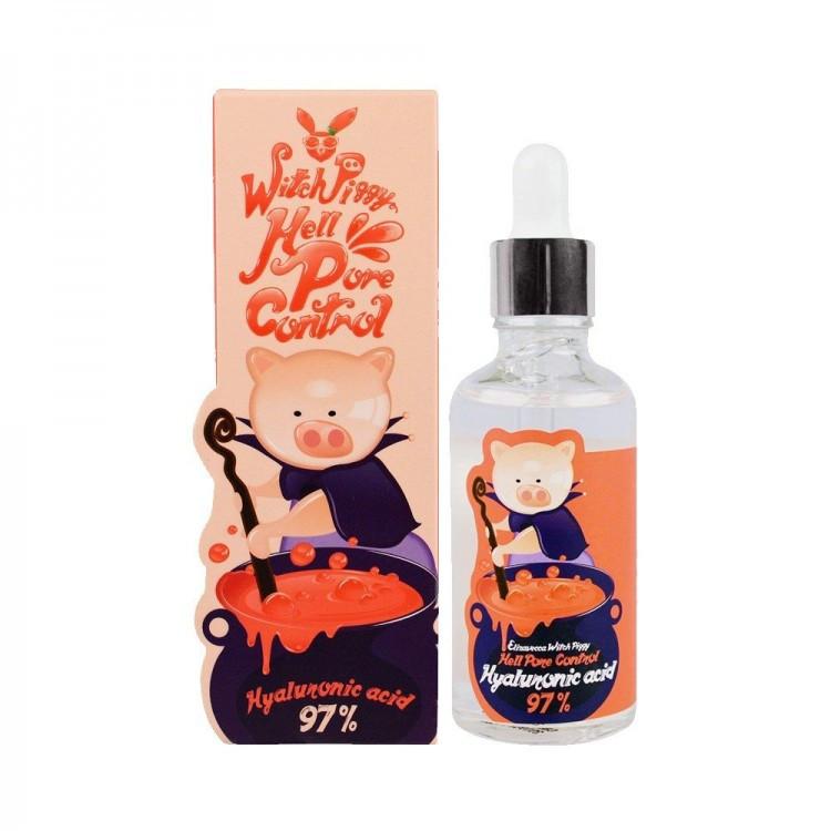 Сыворотка гиалуроновая Elizavecca Hell-Pore Control Hyaluronic Acid 97% мятая упаковка
