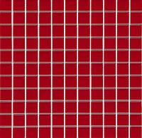 Красная стеклянная мозаика B 001