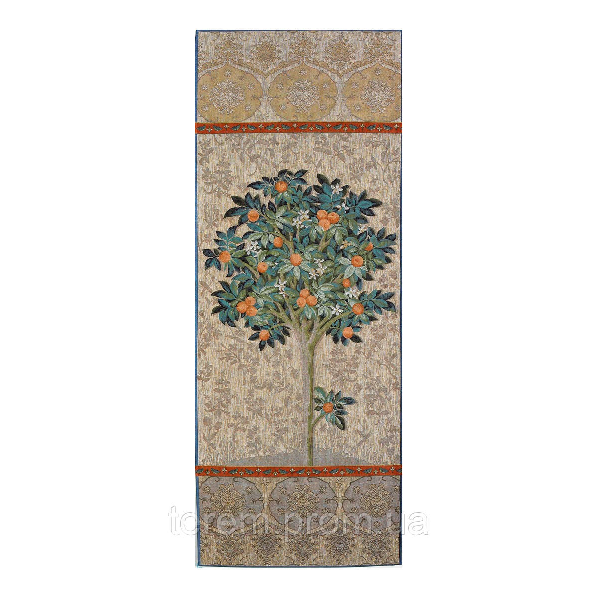 Гобеленовая картина Art de lys Natural orange tree 187x75 8449 без подкладки