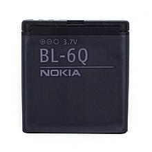 Аккумулятор BL-6Q для Nokia N82 970 mAh 03638-3, КОД: 137710
