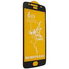 Защитное стекло 6D Premium Glass 9H Full Glue для Motorola G6 XT1925 Black 00005840, КОД: 1258848
