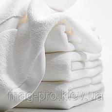 Махровое полотенце Cholzer плотность 450-белое Турция, фото 3