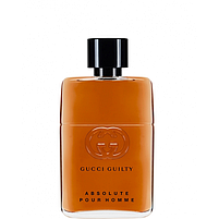 Мужская парфюмерная вода Gucci Guilty Absolute Pour Homme, фото 2