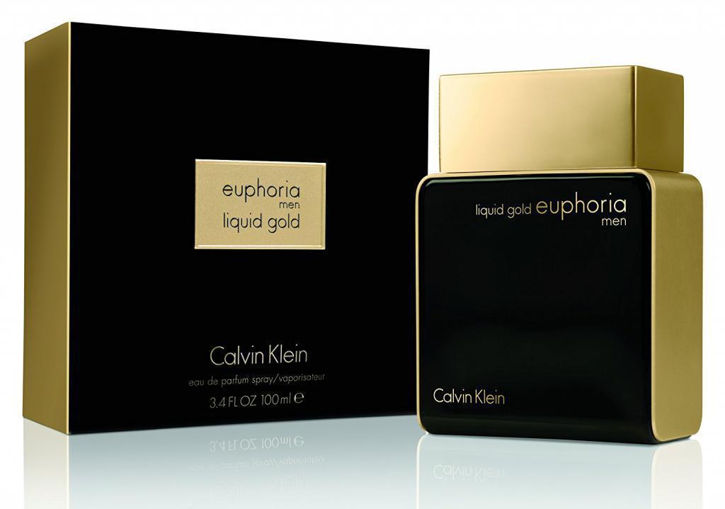 Мужская парфюмерная вода Calvin Klein Euphoria Men Liquid Gold